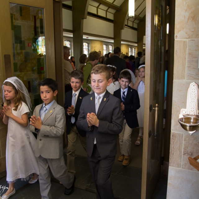 First Communion processional