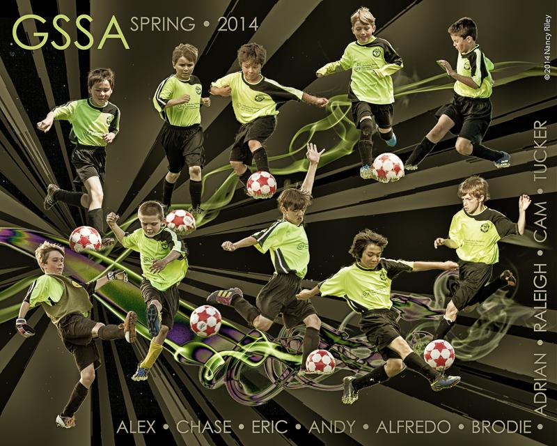 Team action photo