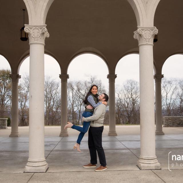 Ault Park Engagement Photos