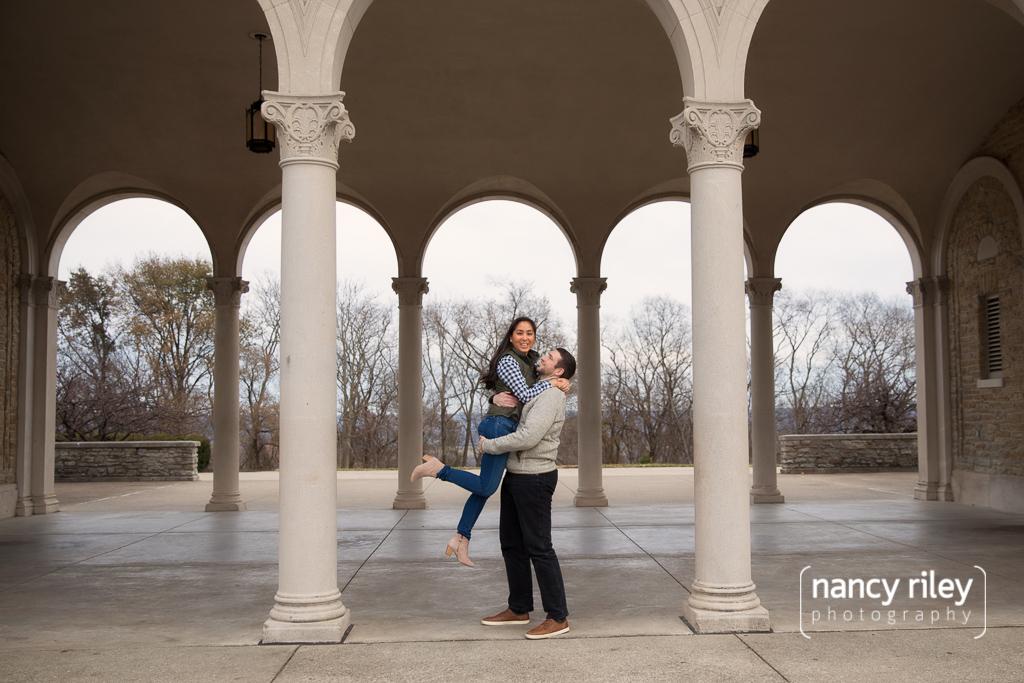 Jacqueline and Steve's engagement photos