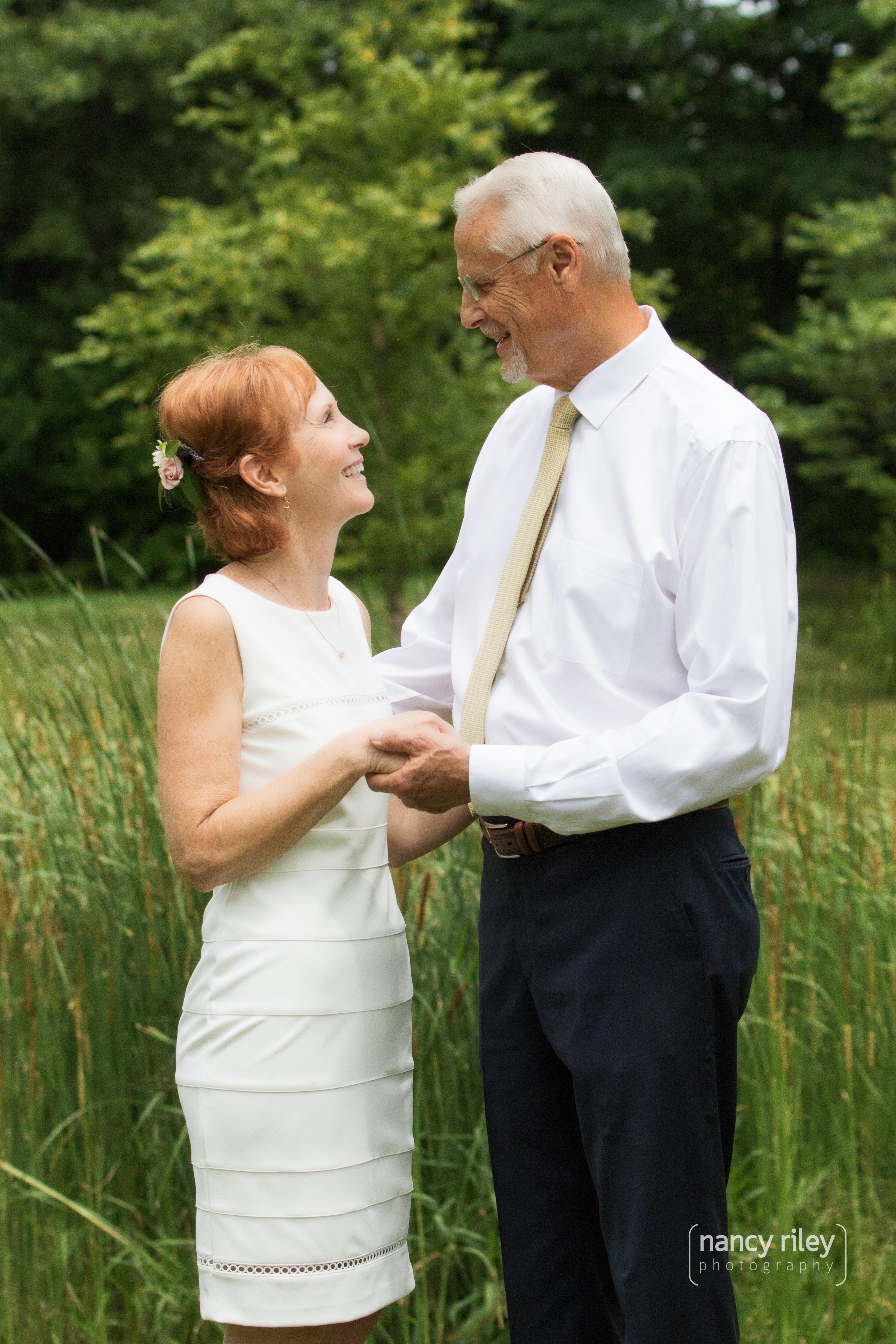 The wedding of Cynthia and Tom