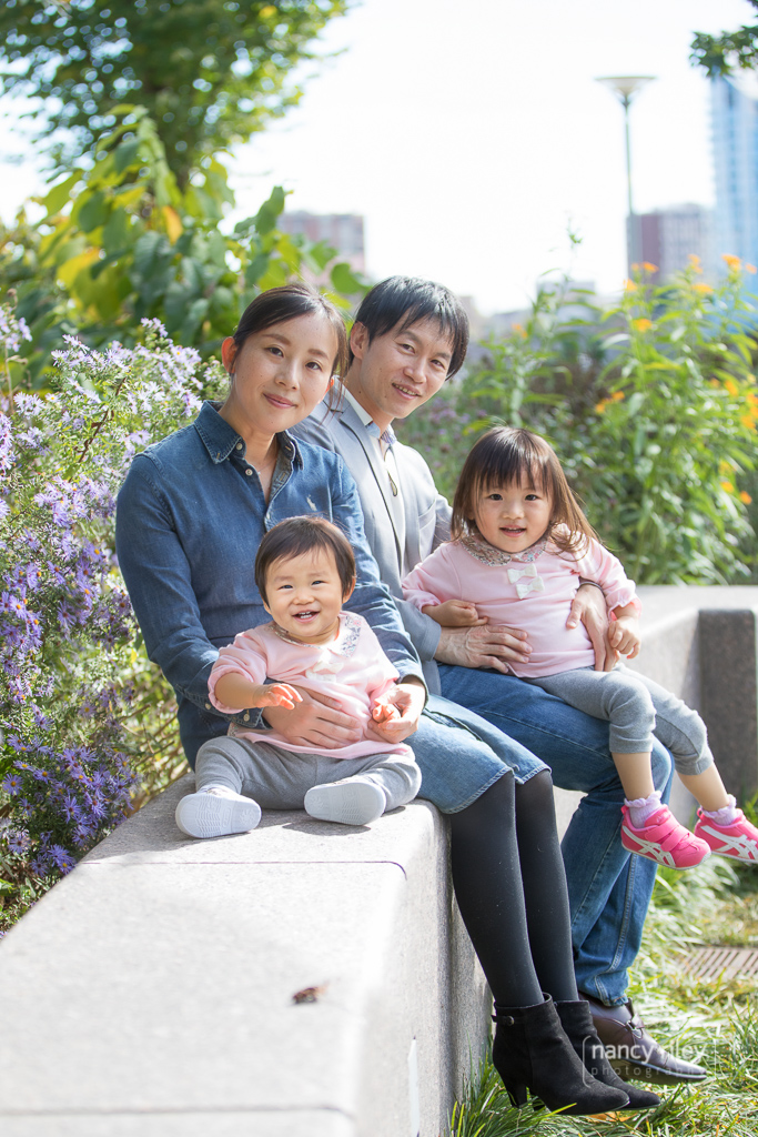 Family Photos in downtown Cincinnati