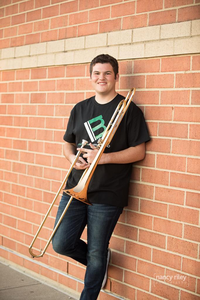 Senior Portrait at Mason High School