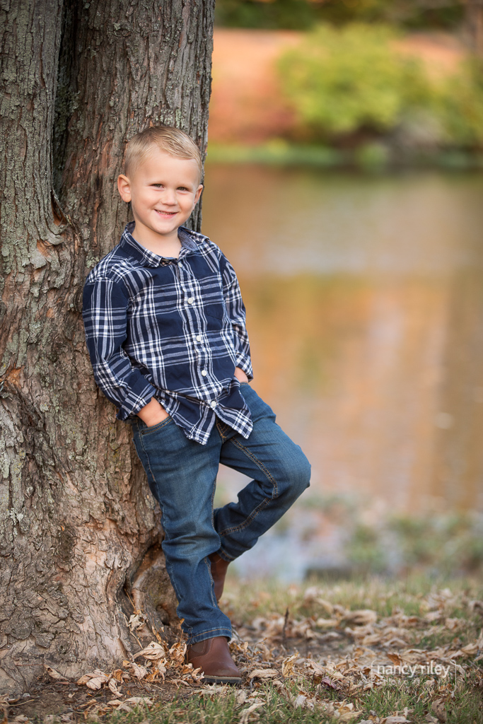 Don and Pat's family portraits at Pine Hill Lakes Park