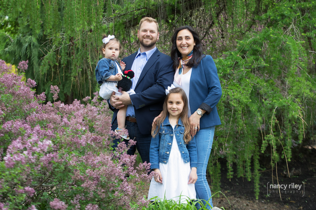Family portraits at Glenwood Gardens