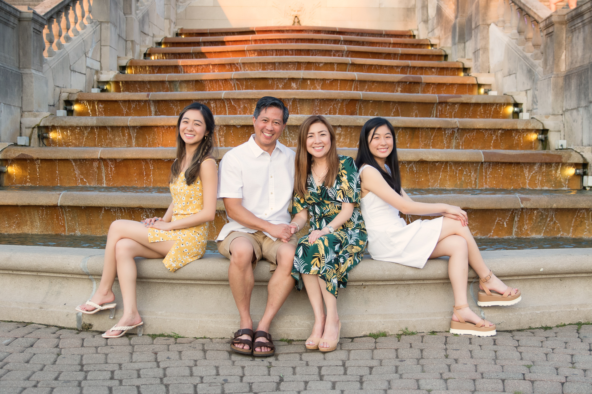 Sandra and Chris–family session at Ault Park
